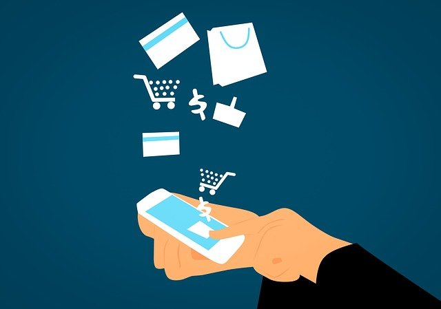 mobile phone with ecommerce capabilities to showcase Magento Security Best Practices